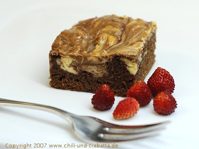 Marmorierte Brownies