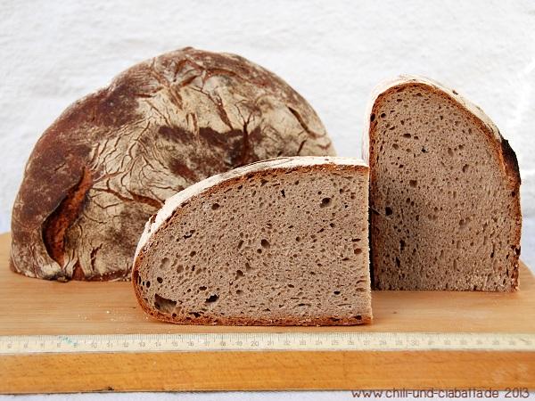 Brot im Anschnitt