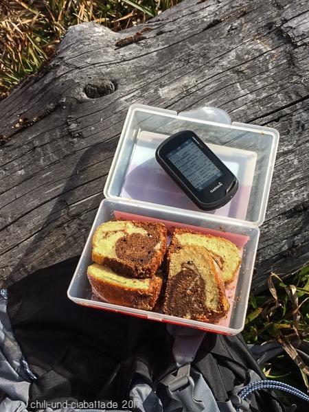 Marmorkuchen mit Trüffelcreme und Eierlikör Wanderung