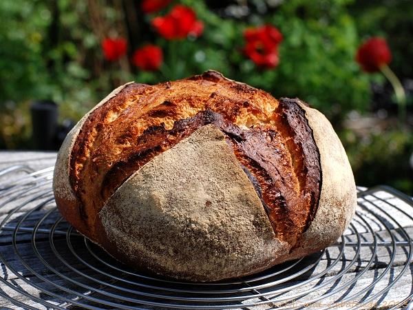 Sauerteigreste-Brot