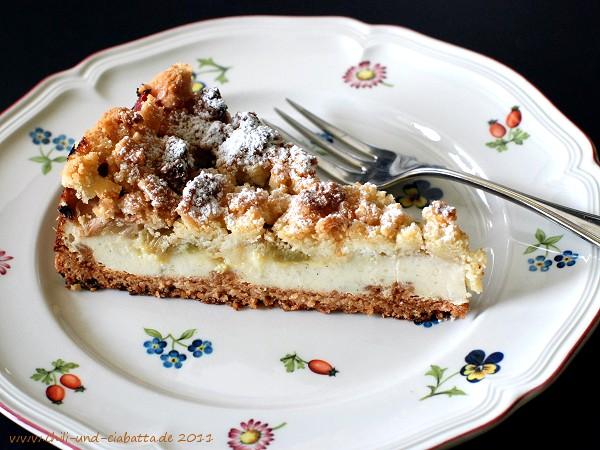 Kuchen im Anschnitt