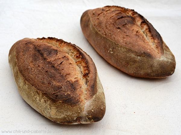 Rustikale Brotstangen