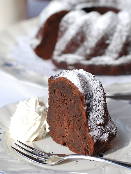Kaffee Schokoladen Grand Marnier Kuchen Chili Und Ciabatta