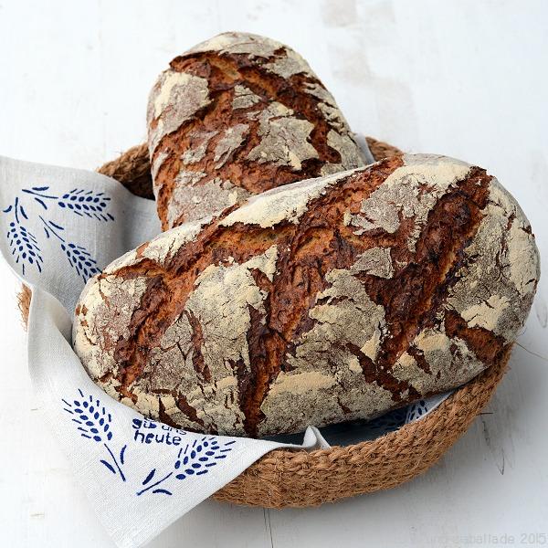 Sellerie-Sesam-Brot mit Buttermilch