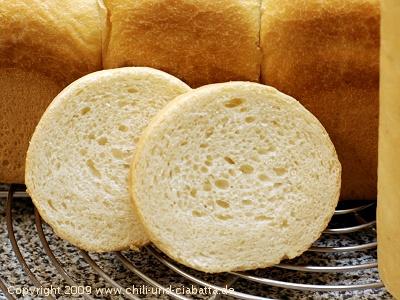 runde Toastscheiben