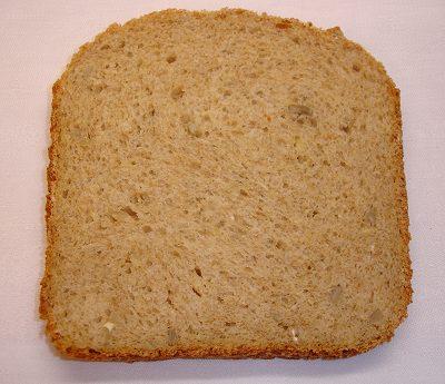 Vollkorn-Sonnenblumen-Brot; Scheibe